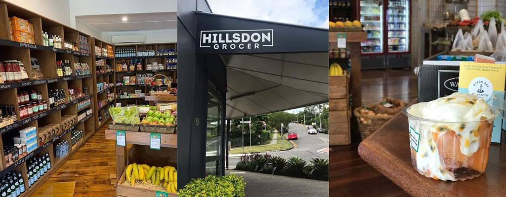 The Hillsdon Grocer in Taringa with fresh produce and artisan goods.