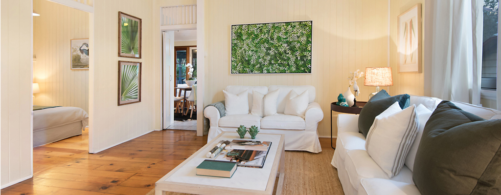 Property styling for a cottage in Toowong enhances its appeal