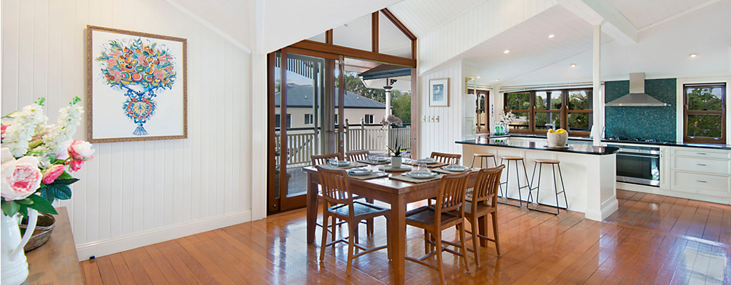 Interior styling used to sell a Queensland in Toowong