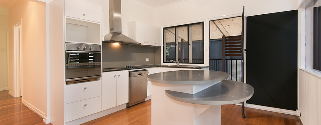 Replaced benchtop at 102 Broseley Road, Toowong