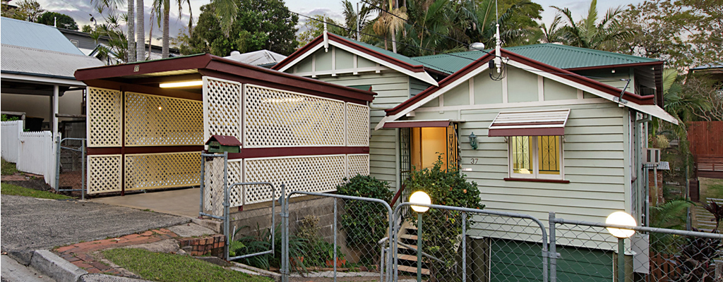 A great Queenslander in Paddington which is currently for sale off-market.