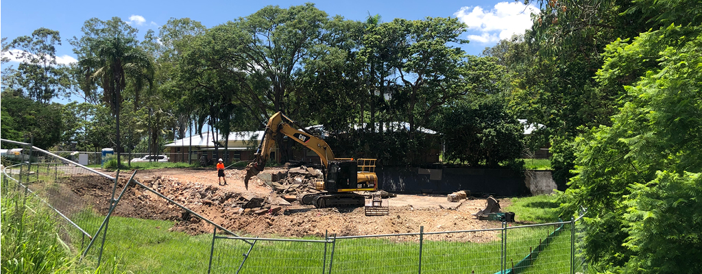 Indooroopilly community guide - construction of the indooroopilly riverwalk