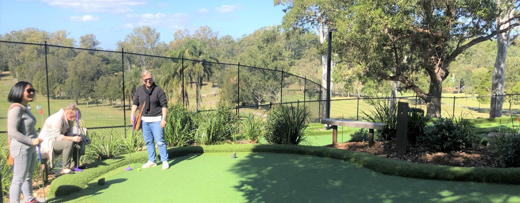 St Lucia Community Guide - Golf and putt putt at St Lucia Golf Links