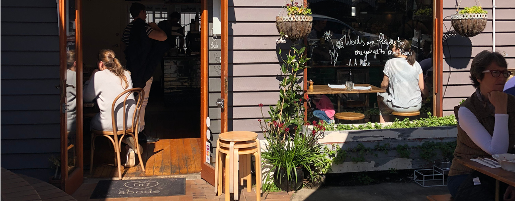 Taringa community guide - coffee and brunch at Abode cafe in Taringa