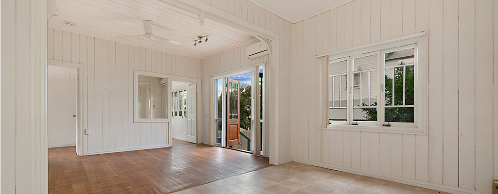 Original cottage in Toowong with high ceilings and character features