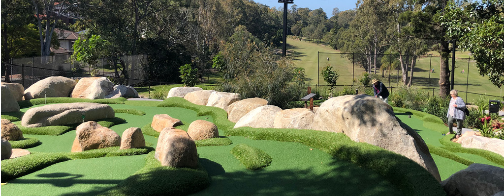 St Lucia Golf Links in the perfect school holiday activity in Inner-West Brisbane